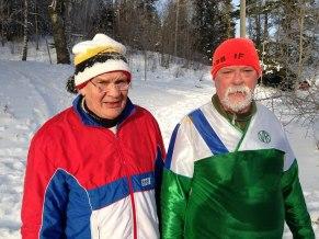 Karl-Åke Larsson och Jan Burell