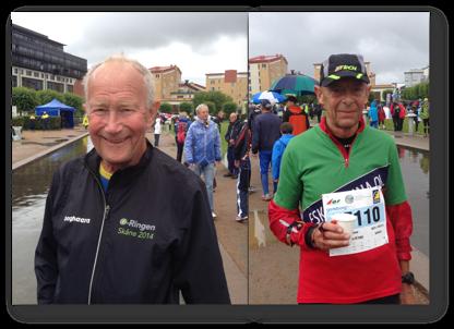 Från vänster: Peo Bengtsson och Jerry Holm