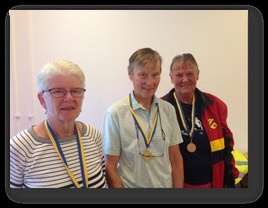 D70: 2:a Ann-Marie Birgersson, segrare Dagny Gustafsson och 3:a Siv Eekelöf