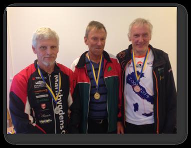 H65: 2:a Torgny Pettersson, segrare Göran Andersson och 3:a Sven-Olov Viklund