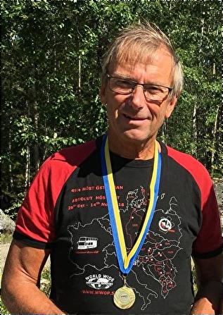 Göran Andersson, Asker-Lännäs PRO, Mästare i klassen H65 sprint och medel.
