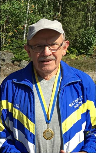 Nils Jansson, Ö Fågelvik-Väse PRO, Mästare i klassen  H80 sprint.