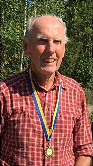 Folke Nyström, Västerbergsslagens OL, Mästare i klassen H80 medel.