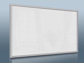 Infranomic STANDARD 500 Watt, vit, 900 x 600mm, Aluram 10mm - Infranomic STANDARD 500 Watt, vitt, 900 x 600mm, Aluram 10mm