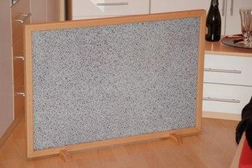 """Exempelbild: 500 watt 30mm träram, Motiv: """"Granit"""""""