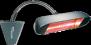 HELIOSA 998 - 1500 Watt i vit IPx5 - HELIOSA 998 - 1500 Watt i antracit IPx5