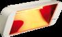 12 x HELIOSA 66 -1500 Watt IPx5 + 6 Markishållare - 12 x HELIOSA 66 - 1500 Watt i antrazit + 6 x Markis hållare