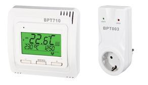 BPT710 - Trådlös Fullt programmerbar termostat - BPT710