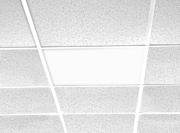Stålpanel IR-C för undertak med synlig bärram 350 W
