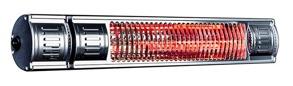 Infralogic 2000 Watt IP65 Fjärrkontroll 3-steg - 2000 RC alu