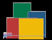 Infranomic RAL-FÄRG 500 Watt, 900 x 600mm, Aluram 10mm
