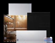 Infranomic 700 Watt SlimLine i vit eller svart 1200 x 600