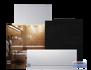 Infranomic 400 Watt SlimLine 700 x 600 i vit eller svart - Slimline 400 Watt i vit