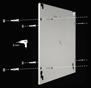 Infranomic 400 Watt SlimLine 700 x 600 i vit eller svart