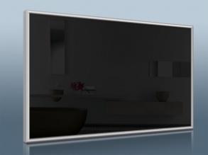 Infranomic STANDARD 900 Watt, svart, 1400 x 600mm, Aluram 10mm (KOPIA) - Infranomic STANDARD 900 Watt, svart, 1400 x 600mm, Aluram 10mm