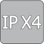 Infranomic STANDARD 700 Watt, Svart, 1200 x 600mm, Stilram Gul 70mm