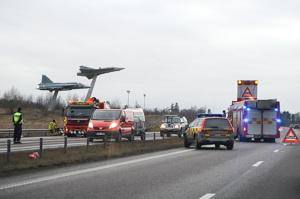 Copyright Foto: Thommy Jakobsson. Det olycksdrabbade JAS projektet början på en ny era?