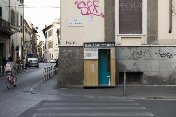 Fotoautomatica på Via dell Agnolo, Firenze