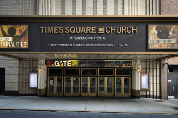 Times Square Church, 237 west 51st street, New York