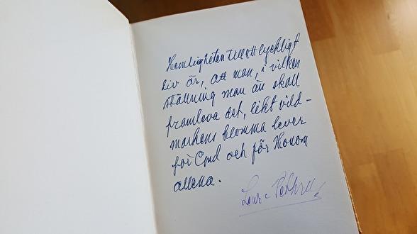 Pingstväckelsen, Lewi Pethrus handskrivna ord.