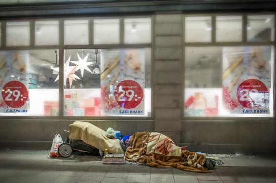Minus 2 grader på Stureplan kl. 21.32 fjärde advent 2014