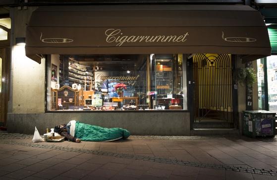 """Stureplan i Stockholm  """"Cigarrummet"""". (bilden är klickbar)"""