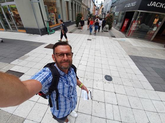 Evangelisation på Gamla brogatan / Drottninggatan i Stockholm