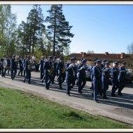 2006-05-01 Musikkåren i Gunnebo hållet takten .