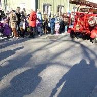 Även skuggoorna vill vara med på påskparaden