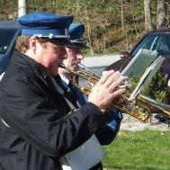 Två kämpande trumpetare : Sven-Erik Jakobsson ; Fredrik Ekvall.