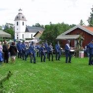 Musikkåren och Västrums kyrka