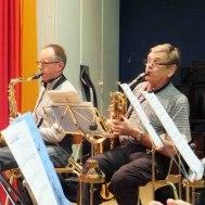 Saxofonspelande musikanter ; Anders Nilsson : Anders Ålstam