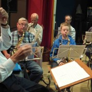 Jag undrar hur dom fick till det där : Dirigent Gunnar Andersson : Ola Ålstam ; Lars Axmon ; Joel Nilsson ;Anders Nilsson ; Anders Ålstam.