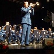 En av kårens Trumpetsolister : Tommy Persson.