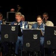 Del av klarinettsektionen ( Träverket )
