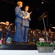 Flöjtsolister : Eva Henell , Susanne Israel.