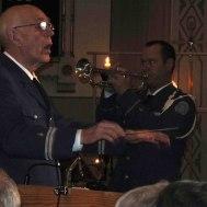 """Konsertens trumpetsolist """"Tommy Persson spelade """" O Helga Natt."""