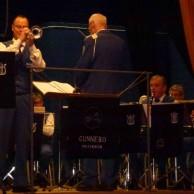 """Kvällens trumpetsolist Tommy Persson framför """" GELSOMINA ur filmen La Strada."""
