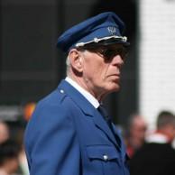 Musikkårens dirigent : Gunnar Andersson