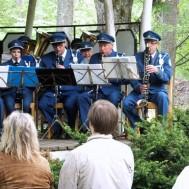 Delar av klarinettsektionen för kvällen ; Christer Westerberg ; Hanna Israel ; Lars Mårtensson ; Tommy Olofsson ; Sören Jonsson på basklarinett.