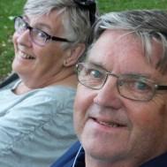 Två Glada Besökare , Gun & Jan Svensson.