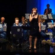 Konsertens Sångsolist Ingrid Lindebratt