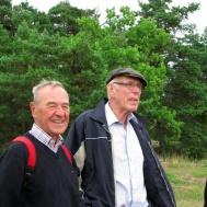 Så glada blir man av att vandra på Idö. Roland Svensson, Gunnar Andersson. Göthe Medner.