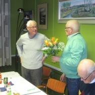 Ivan Persson avtackas efter 25 år som sekreterare