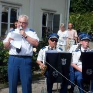 Roger Appelqvist i sångartagen.