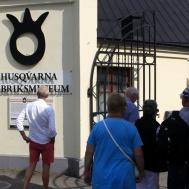 Innan Tattoo besökte vi Husqvarna Fabriksmuseum.