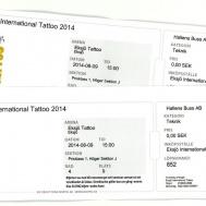Biljetter Tattoo