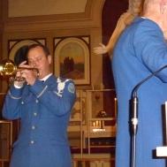 "Tommy Persson trumpetsolist i ""O Helga Natt"""
