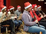 Paus i klarinettsektionen