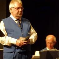 """""""Vår Bästa Tid är Nu""""framfördes av Roger Appelqvist."""